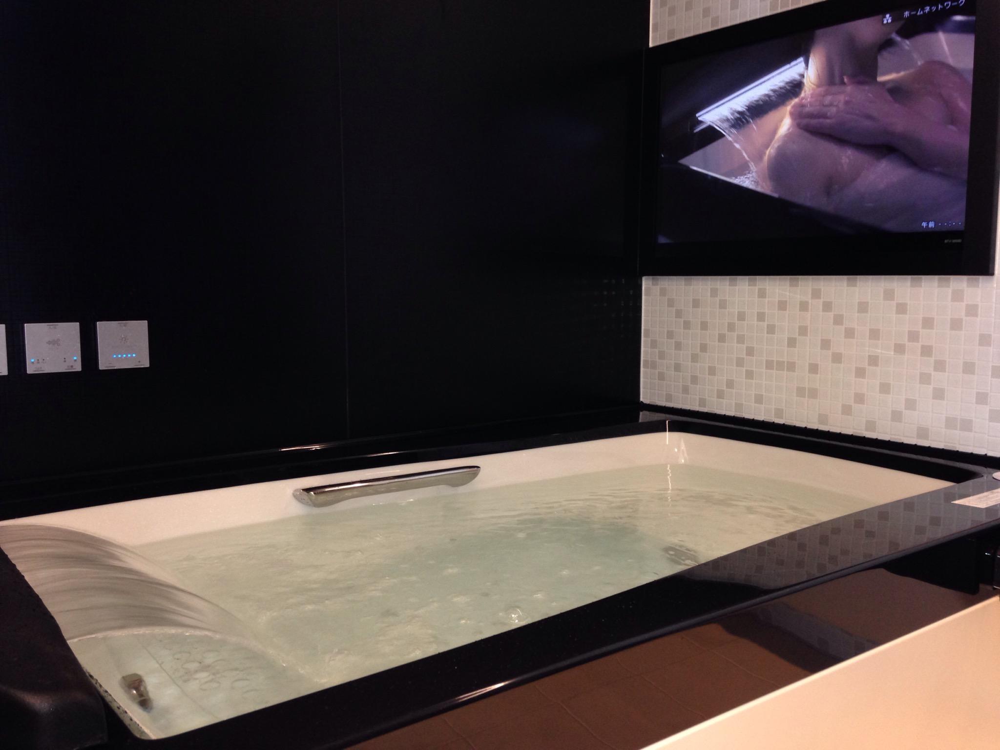 お風呂のテレビでリラックス ...