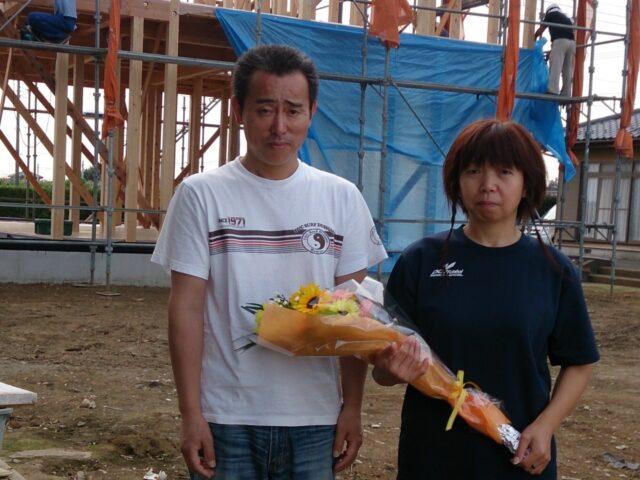 筑西市 家のこと以外でも職人さんたちの気遣いがうれしかったです