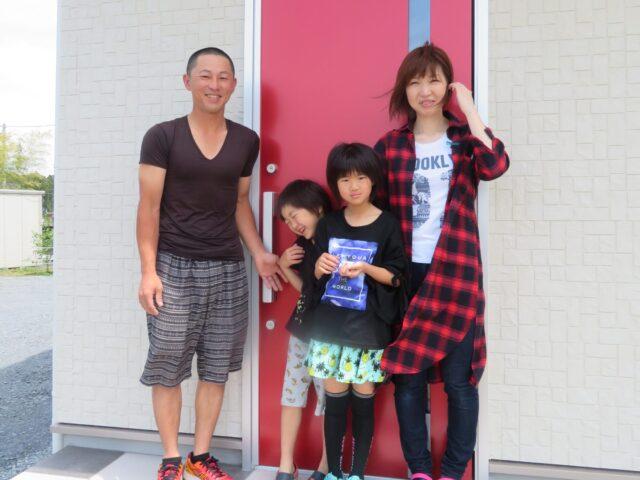 霞ヶ浦市 アパートは手狭になり、自分達が安らげる空間が欲しかった