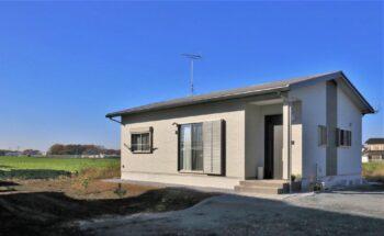 平屋で快適に暮らしたい!シンプルでコンパクトな18.78坪(介護対応住宅)