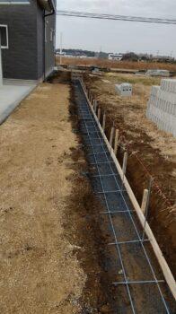 【筑西市】ブロック&フェンス工事も完了しました!