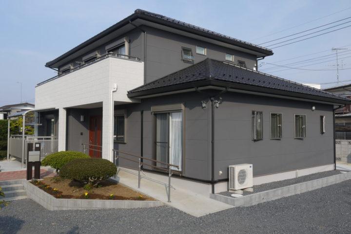 ゆとりの広さと構造にこだわった二世帯住宅