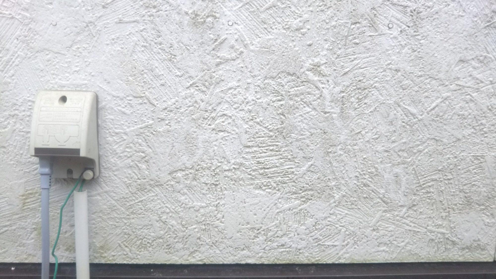 外壁 北側の汚れ2