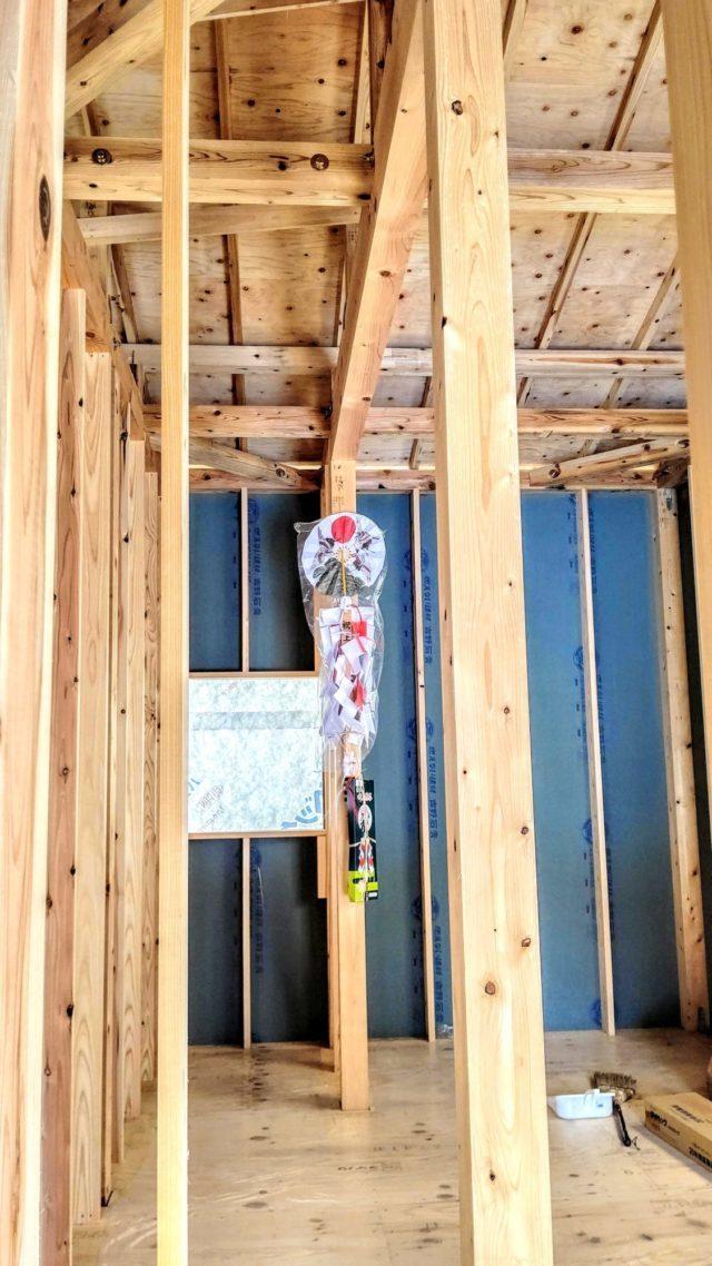 筑西市で平屋一戸建て注文住宅新築工事進んでます!