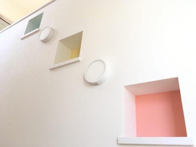 リビング階段&収納スペース&階段ニッチ